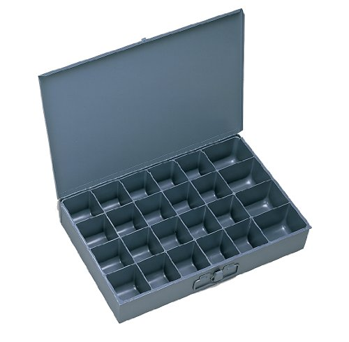 Durham 202-95-IND Gray Cold Rolled Steel Individual Small Scoop Box, 13-3/8