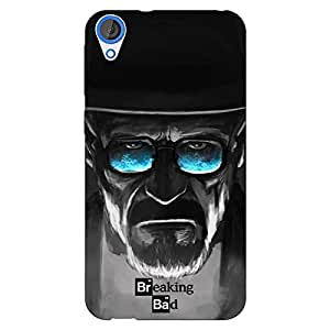 Jugaaduu Breaking Bad Heisenberg Back Cover Case For HTC Desire 820 Dual Sim