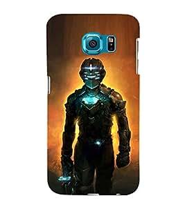 EPICCASE Robot killer Mobile Back Case Cover For Samsung Galaxy S6 Edge (Designer Case)