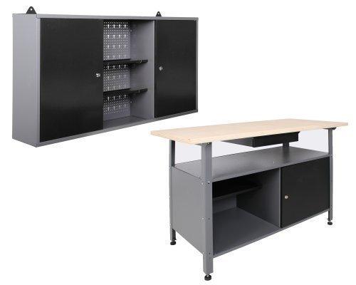 Werkstatteinrichtung-Werkstatt-Werkbank-Werkzeugschrank