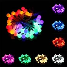 4M 40 LED Battery Powered Colorful Ball Fairy String Light Wedding Party Décor-Red