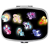 My Little Pony Unique Custom Design Pill Box Medicine Tablet Organizer Dispenser Case