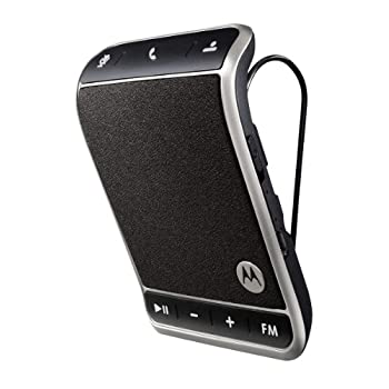 Stay in touch on the road with Roadster Bluetooth speakerphone from Motorola's Elite Series which offers dual-microphone noise cancellation technology to ensure you can be heard over road noise and block out background noise better than any other spe...