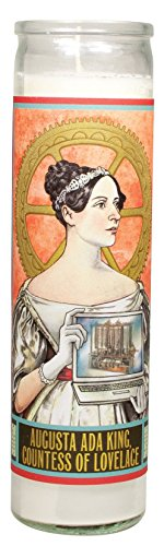 ada-lovelace-secular-saint-candle-85-inch-glass-prayer-votive