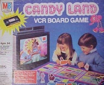 Candy Land VCR Board Game - Buy Candy Land VCR Board Game - Purchase Candy Land VCR Board Game (Milton Bradley, Toys & Games,Categories,Games,Board Games,Strategy Games)