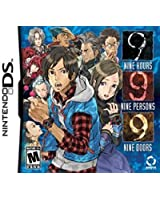 Zero Escape Volume 1 999: 9 Hours, 9 Persons, 9 Doors (Nintendo DS, 2010) Original Cover