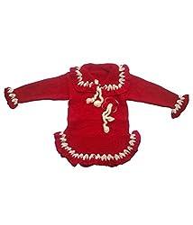 Durga Unne Ghar Kids Sweater (Durga Unne Ghar-68_Red _2-4 Years)