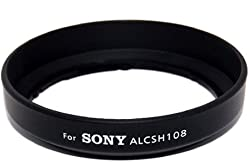 JJC LH-108 Professional Replacement SONY ALC-SH108 Lens Hood For Sony DT 18-55mm DT 18-70mm f/3.5-5.6 Lens