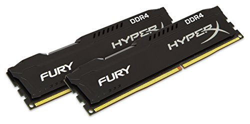 HyperX FURY Memory Black 16GB DDR4 2133MHz Kit 16GB DDR4 2133MHz memoria