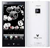 docomo Disney Mobile on docomo P-05D ホワイト 白ロム 携帯電話