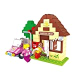 Ausini Fairyland Friends Cafe Shop With Car 123pc Educational Set Compatible To Lego Parts Best Gift For Girls