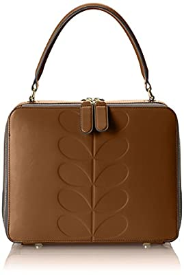 Orla Kiely Embossed Leather Bethan Bag by Orla Kiely