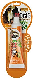 Triple Pet EZDOG Toothpaste, 2.5 oz., vanilla flavor.