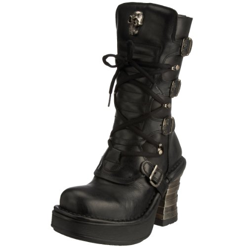 New Rock - Casual donna , nero (black), 40
