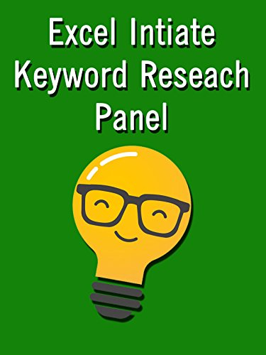 Excel Initiate Keyword Research Panel