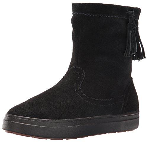 Crocs Lodgepoint Suede Pullon Boot W, Sneaker a Collo Alto Donna, Nero, 41/42 EU