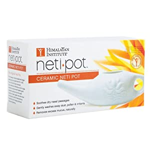 Himalayan Institute Ceramic Neti Pot