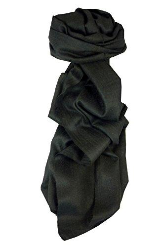cashmere-sciarpa-fino-modello-karakorum-birds-eye-weave-black-adatto-per-uomini-e-donne-di-pashmina-