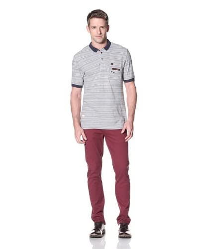 Marshall Artist Men's Multi-Striped Polo