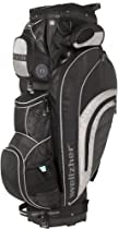 Wellzher Blake Golf Bag (Black/Silver)