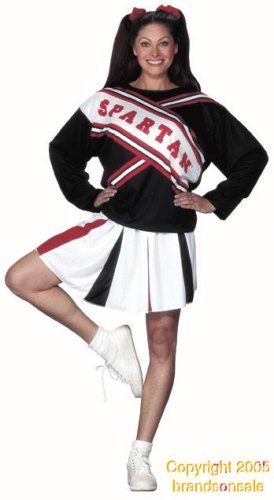 Adult Spartan Cheerleader Costume (Size:Standard)
