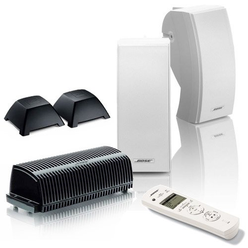 Bose 251 (White) Outdoor Wireless Expansion Package for Lifestyle 48