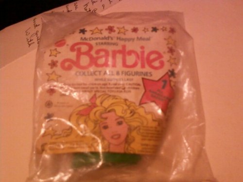 1990 McDonald's Happy Meal Starring Barbie:All American Barbie #1 - 1