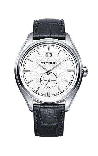 Reloj de pulsera de cuarzo de Eterna avant-Garde, de acero inoxidable, de color blanco 2545,41,60,1340
