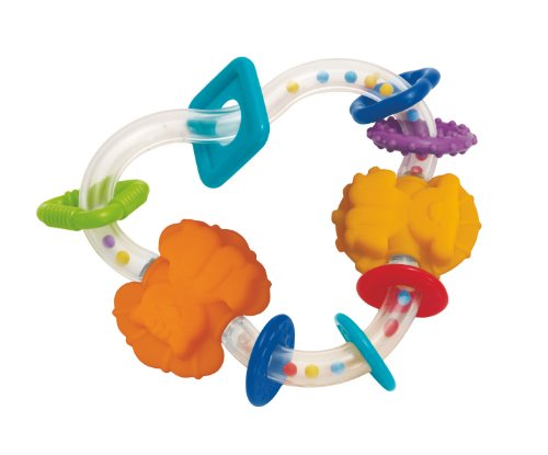 Manhattan Toy Triangle TeeTher Activity Rattle Toy - 1
