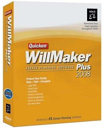 Quicken WillMaker Plus 2008 [OLD VERSION]