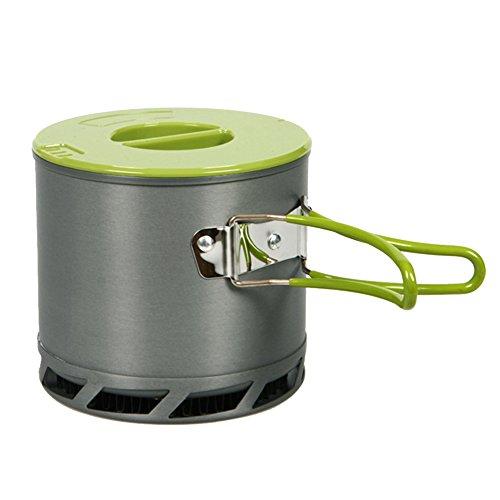 アウトドア、ソロキャンプに最適な熱効率の高い鍋(DS-202) [並行輸入品]