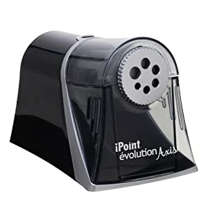 Westcott Axis iPoint Evolution Electric Heavy Duty Pencil Sharpener (15509)