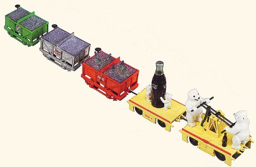 Buy TRAIN O COCA COLA HAUL SET