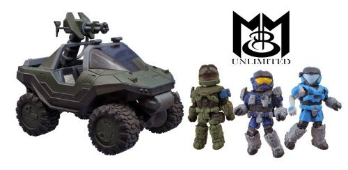 Halo Minimates Warthog Halo Minimates Exclusive M12