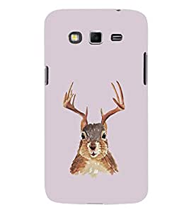 EPICCASE Squireel with horns Mobile Back Case Cover For Samsung Galaxy Grand Neo (Designer Case)