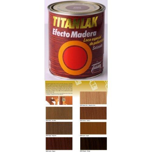 Titanlux - Laca poliur sat embero 375ml titanlak efectomadera 024280738