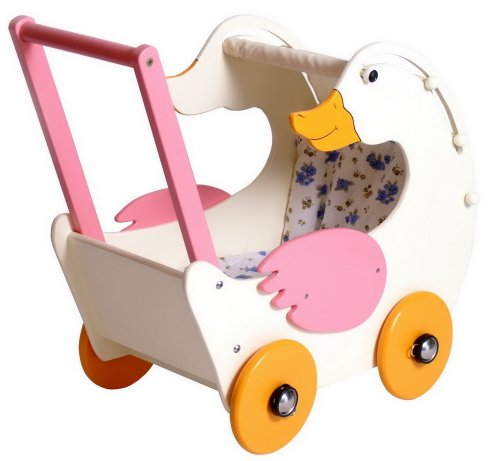 small foot company	stroller for doll