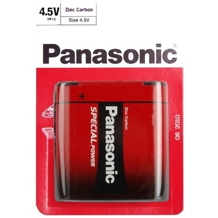 Panasonic Batterie Zink-Carbon 4, 5V Block(Blister), Panasonic - Special Power