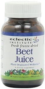 Eclectic Institution Beet Juice 90 Caps