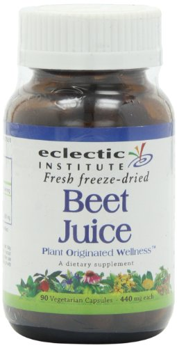 Beet Juice Freeze-Dried Eclectic Institute 90 Caps (Freeze Dried Beet Powder compare prices)