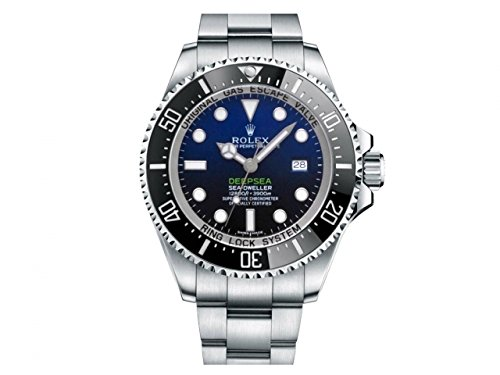 NEW Rolex Sea Dweller DeepSea Stainless Steel Mens watch 116660 DBL