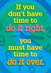Argus Poster: If You Don't Have Time…