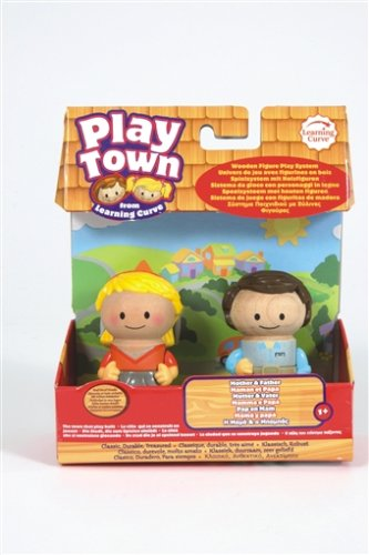 Play Town: Core Family Figures - Mom/Dad 2-Pack - 1