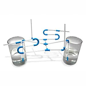 Strawz Construct Your Own Drinking Straw Kit- Blue