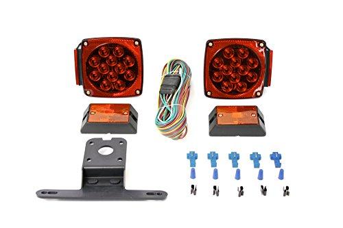 MaxxHaul 70205 12V LED Trailer Light Kit (Small Led Trailer Lights compare prices)