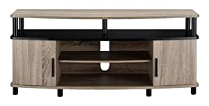 Altra carson contemporary tv stand media entertainment center console home theater Home theater furniture amazon