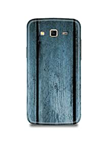 Blue Wooden Samsung J5 Case