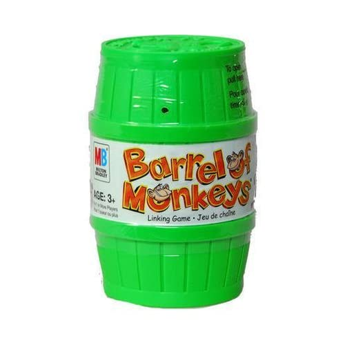 Barrel Of Monkeys Game - Green by Hasbro