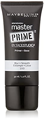 Maybelline New York Face Studio Master Prime Makeup, Blur Plus Smooth, 1 Fluid Ounce
