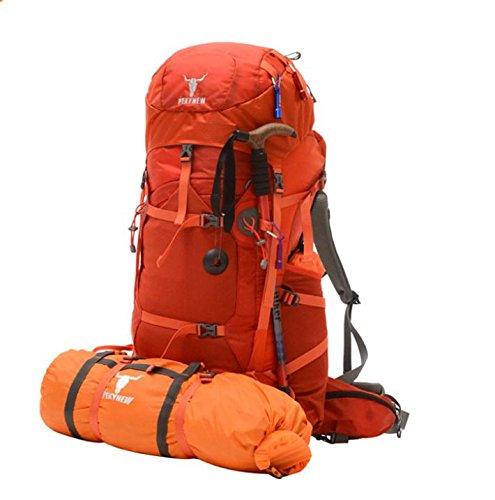 All'aperto alpinismo escursionismo borse zaino zaino Campeggio e tempo libero , orange red